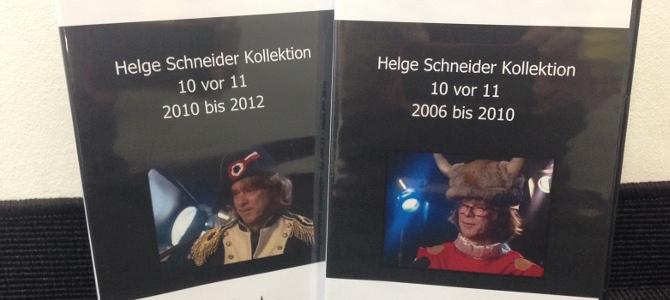 Wir verlosen 2 Helge Schneider DVDs mit insgesamt 13 Sendungen