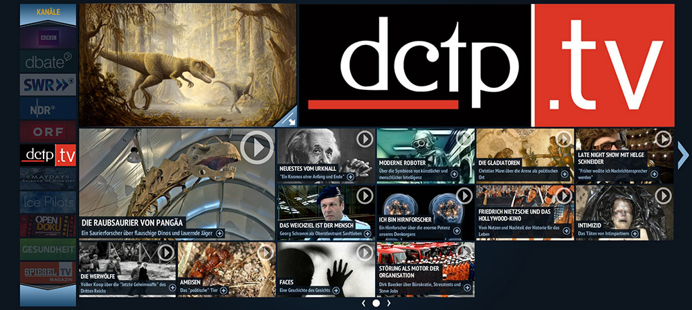 Ausgewählte Filme der dctp jetzt auch auf SPIEGEL.TV