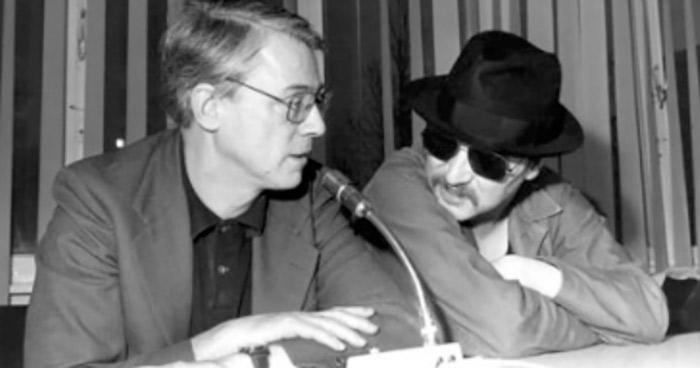 Alexander Kluge und Rainer Werner Fassbinder  (Copyright: Internationale Filmfestspiele Berlin)