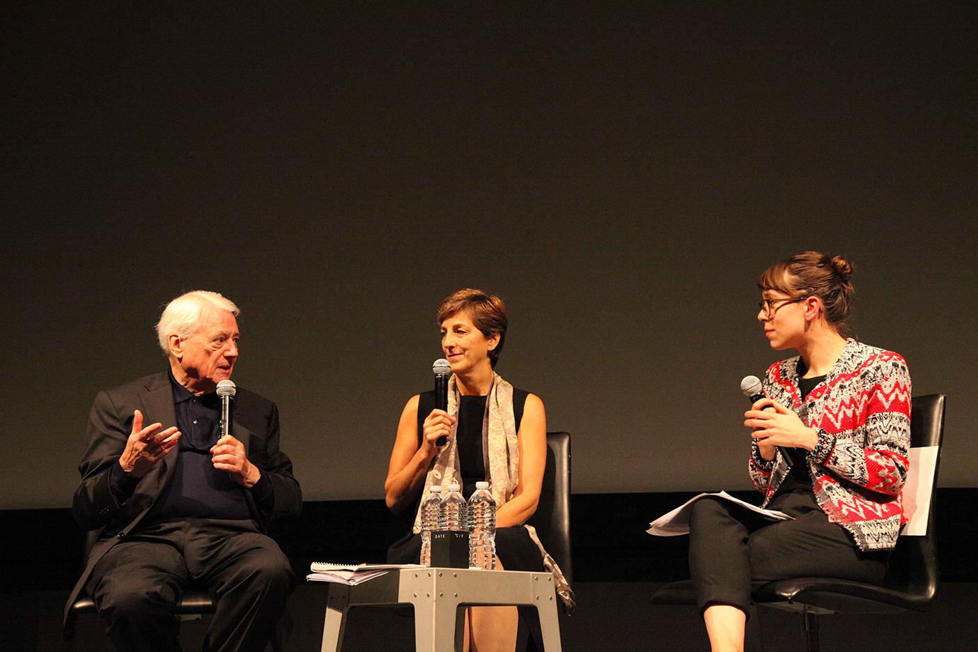"""Alexander Kluge im MOMA im Rahmen der Veranstaltungsreihe """"Modern Monday"""""""
