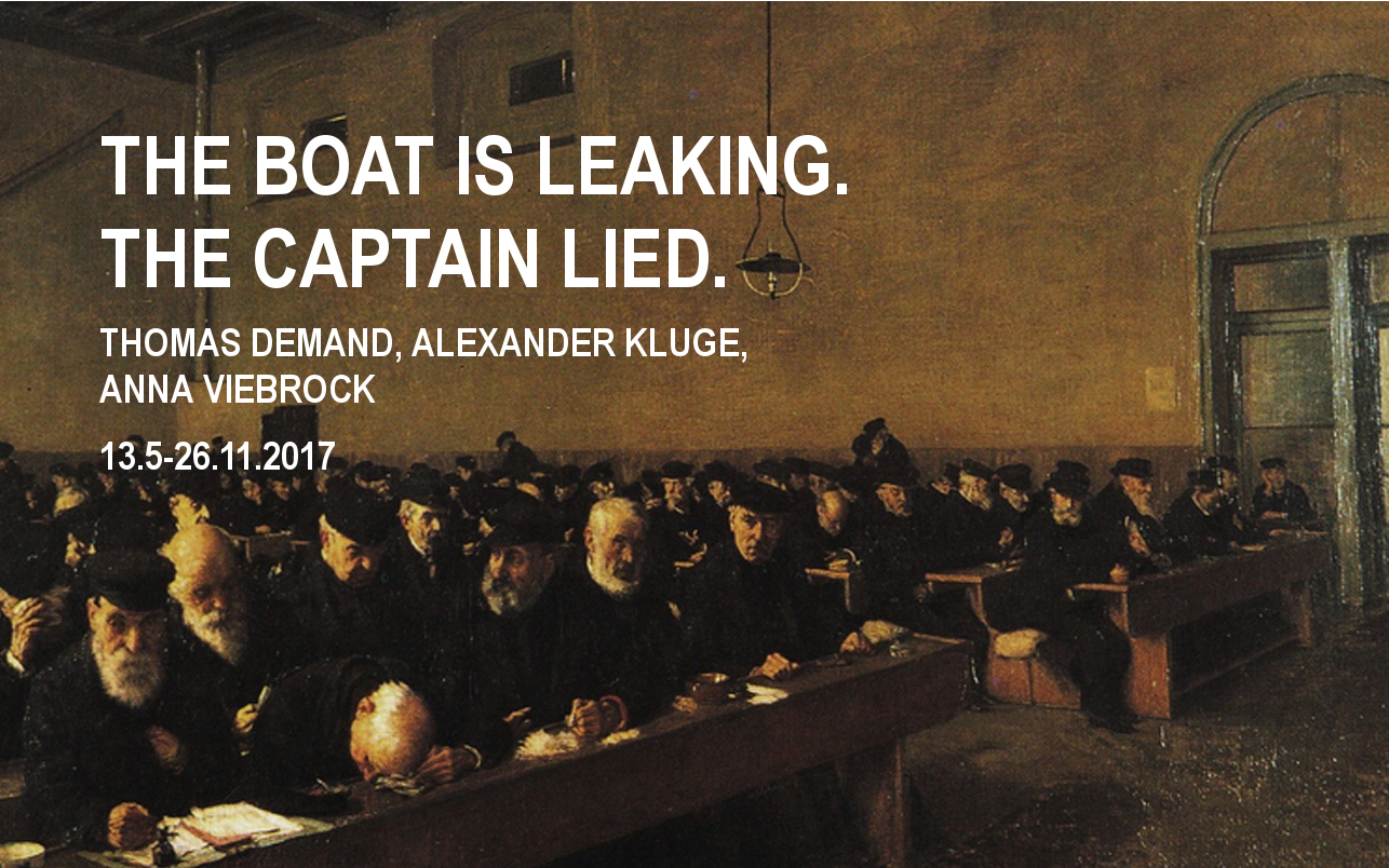 THE BOAT IS LEAKING. THE CAPTAIN LIED.  Fondazione Prada (Venice)