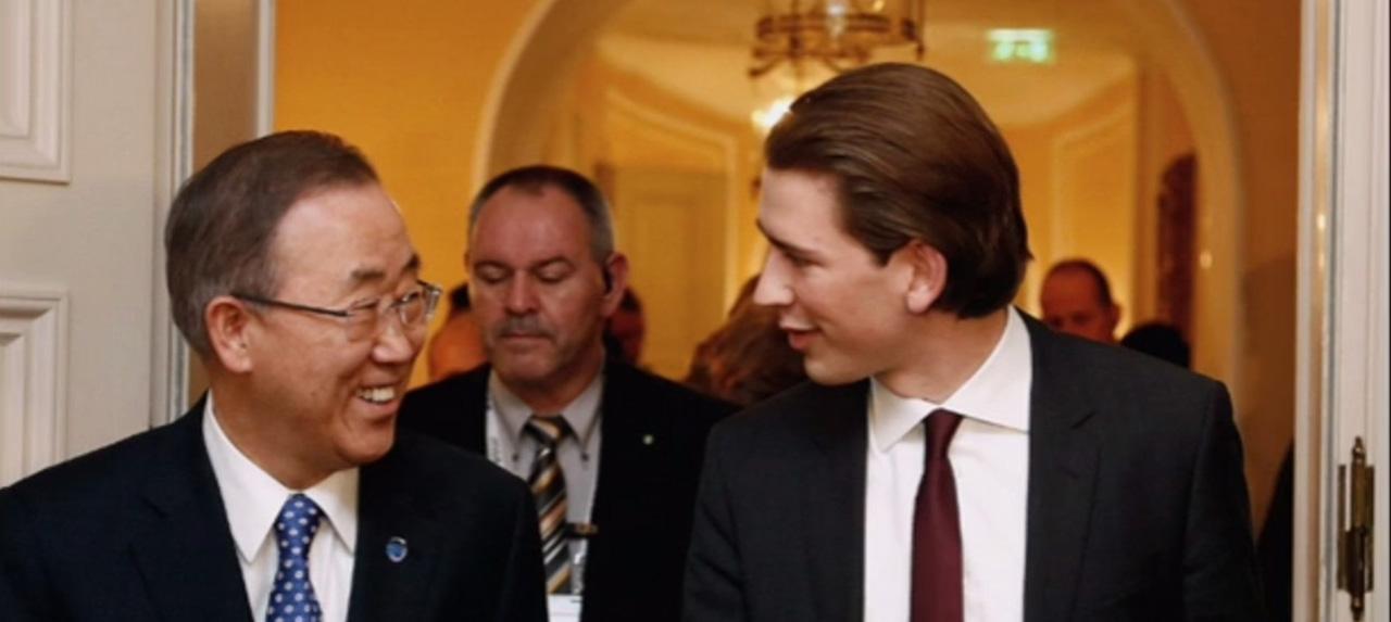 Aus aktuellem Anlass: Interviews mit Sebastian Kurz von der MSC 2014 & 2015
