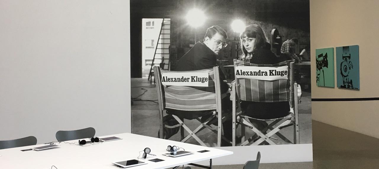 PLURIVERSUM: Ausstellungseröffnung zu Alexander Kluges Werk