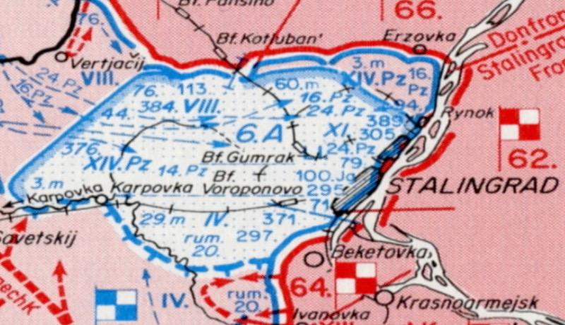Stalingrad Karte Europa.Stalingrad Der Untergang Der 6 Armee Magazin Dctp Tv