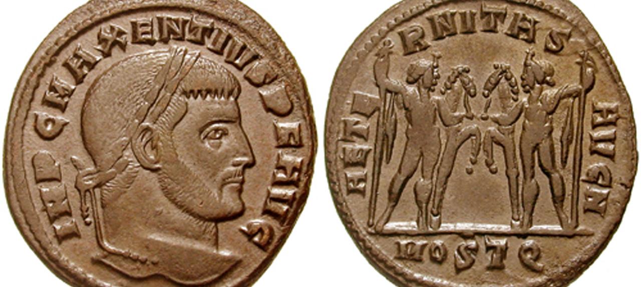 Aus dem Archiv: Ich, Maxentius, Kaiser und Gott!