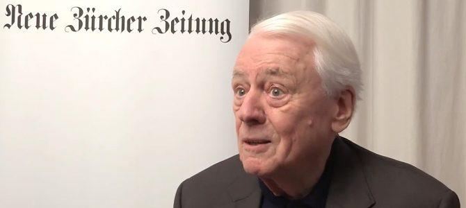 """""""Ich bin eine Leseratte!"""" Gastkommentar von Alexander Kluge in der NZZ"""