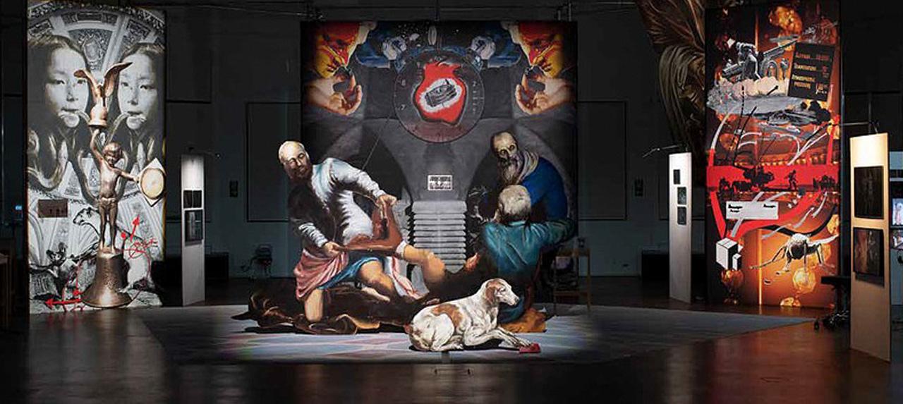 Der Tempel der Ernsthaftigkeit. Virtueller Rundgang durch 9 Stationen der Ausstellung im Württembergischen Kunstverein, Stuttgart.