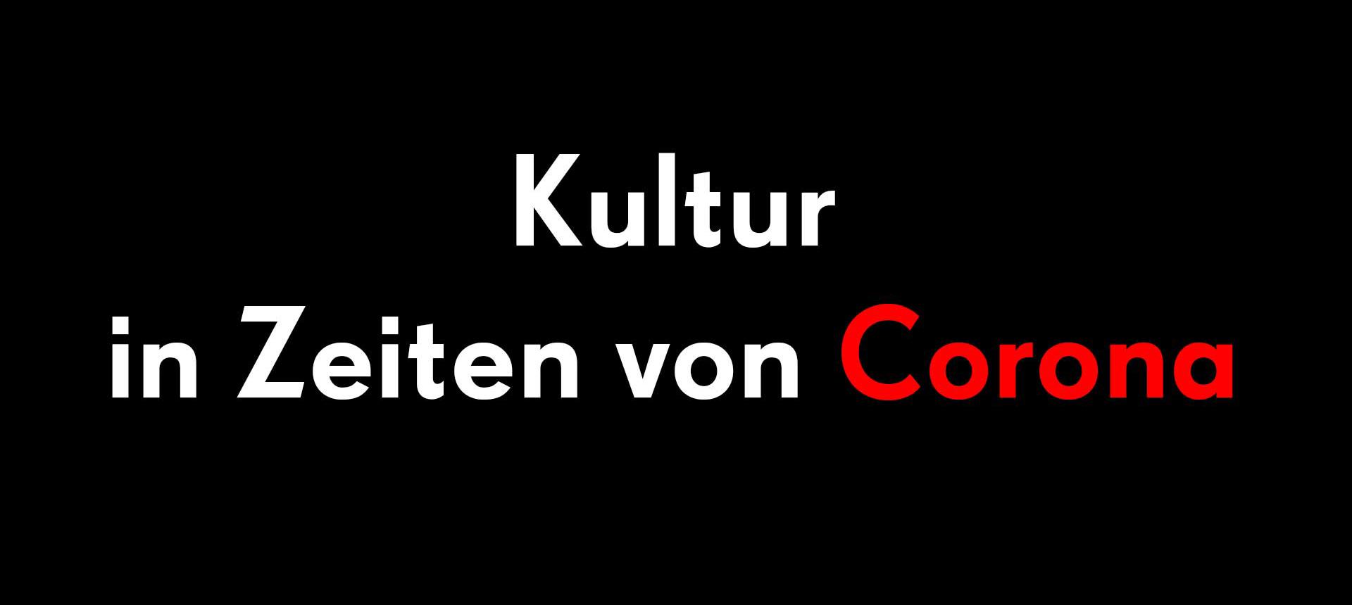 Veranstaltungsankündigung: Kultur in Zeiten von Corona: Versuch einer Revue mit Alexander Kluge