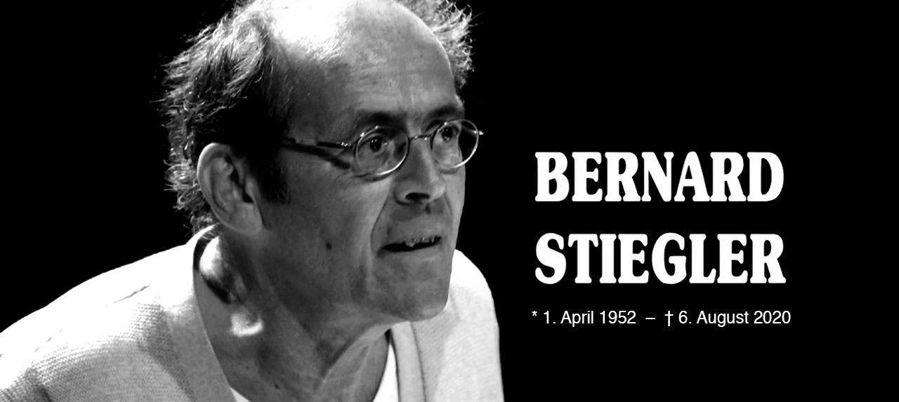"""In Gedenken an Bernard Stiegler: """"Ein Alchemist des Denkens"""""""