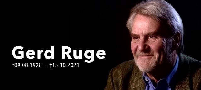 Zum Tod von Gerd Ruge